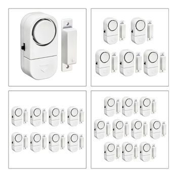 8PCS Security Alarm System Standalone Magnetic Sensors Independent Wireless Home Door and Window Alarm Security Burglar Alarm home safety alarm system standalone magnetic sensors independent wireless home door window entry burglar alarm security alarm