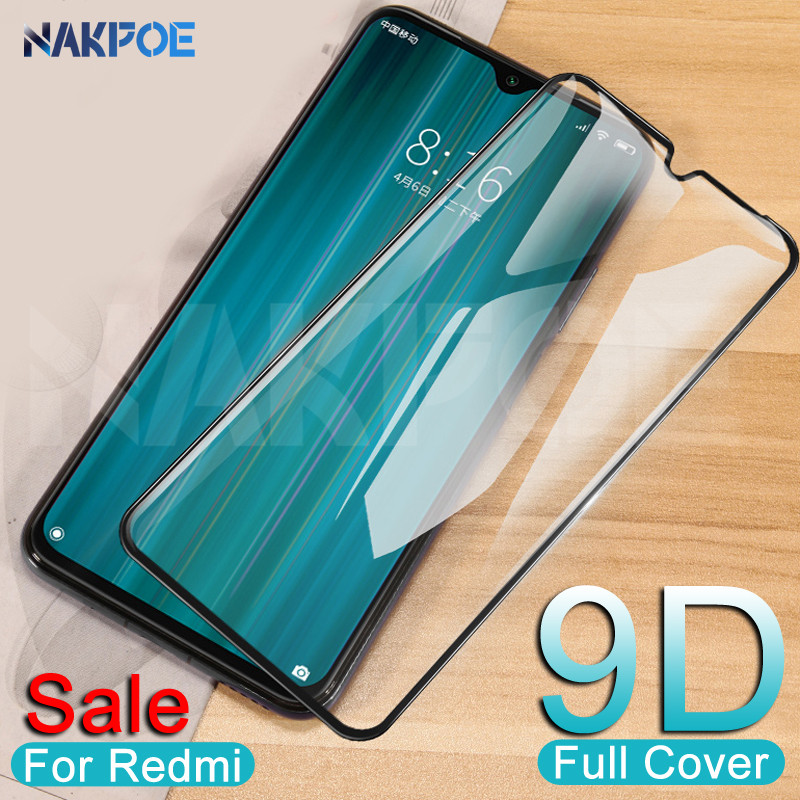 9D Protective Glass On The For Xiaomi Redmi 8 8A 7 7A 6 Pro 6A Go K20 Redmi Note 8 7 6 Pro Tempered Screen Protector Glass Film