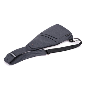 Image 5 - DIENQI Anti theft Chest Bag Male Thin Chest Pack Holster Men Bag Sling Personal Pocket Pauch Purse Man Cross Body Strap Hand Bag
