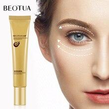 BEOTUA Snail Eye Cream Remove Dark Circle Moisturizing Care Skin Hyaluronic Acid Anti-Aging Puffiness Serum