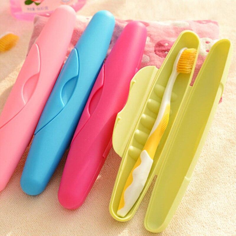 1pcs Portable Travel Toothbrush Protect Holder Case Washing Toothbrush Storage Box With Lid Sealed Waterproof Leak Locking