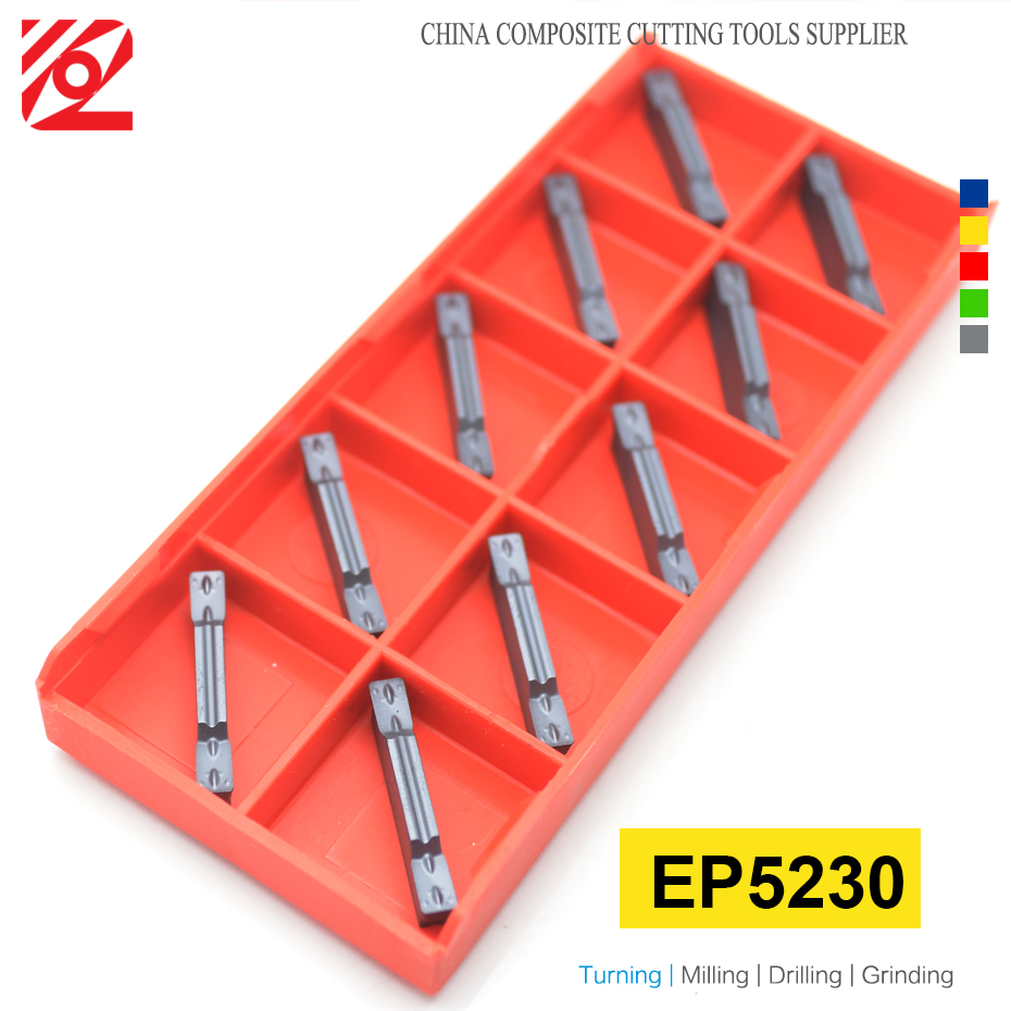 Image 3 - EDGEV 10PCS Grooving Carbide Insert MGMN150 MGMN200 MGMN 250 MGMN 300 MGMN 400 MGMN 500 MGMN600 CNC Turning Tools NC3020 PC9030-in Turning Tool from Tools