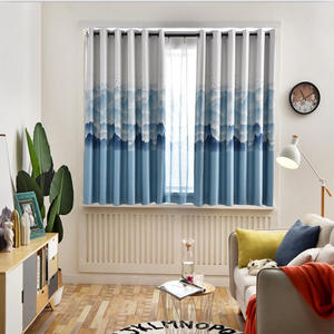 Window-Curtain Easy-Installation Rental-Room Float Small Product Finished Simple