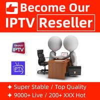 IPTV Reseller Panel Stable IPTV m3u Subscription Europe IPTV Spain Belgium Canada Italian Iptv xxx Hot for Smart tv Android Box