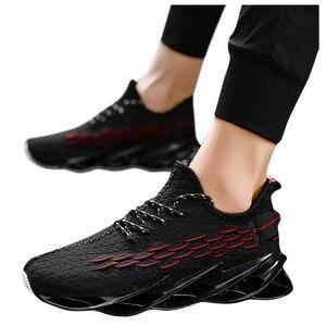 Image 3 - ผู้ชายตาข่ายรองเท้าสบายๆLace Upใหม่2019ผู้ชายรองเท้าผ้าใบฤดูใบไม้ผลิฤดูใบไม้ร่วงBreathableแฟชั่นสบายรองเท้าผู้ชายรองเท้า