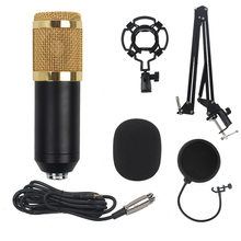 BM800 Capacitive USB Microphone Set Computer Game Recording Microphone Youtube Live