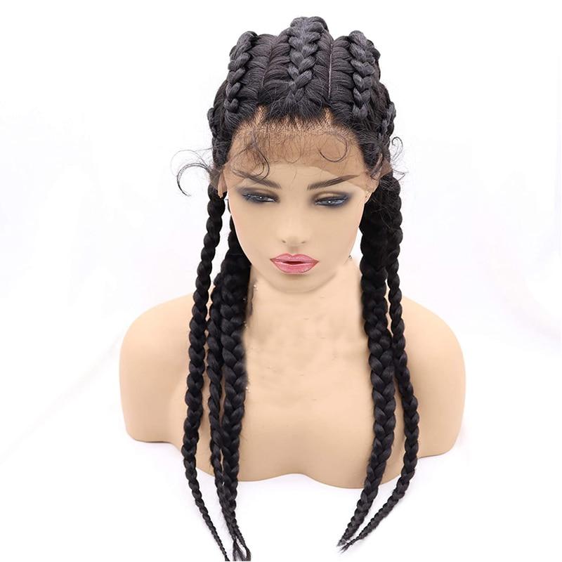Box Braided Wig 5