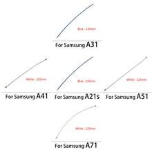 50 قطعة الداخلية واي فاي هوائي إشارة الكابلات المرنة لسامسونج A10S A20S A30S A50S A70S A01 A11 A21 A21S A31 A41 A51 A71 M21 M51 F41