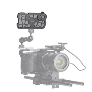 Image 5 - SmallRig Pro נייד כלוב עבור iPhone X/XS הדוק Vlogging וידאו ירי כלוב עם קר נעל הר 2414