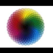 Wyrzynarki Puzzle 1000 szt. Kolorowa tęcza geometryczny wzór Puzzle gry dorośli dzieci kid edukacyjne ciekawa zabawka zestaw nowość