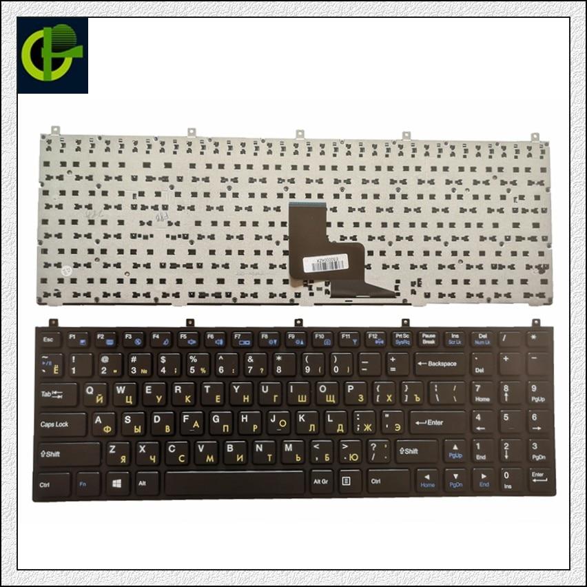 Russian-Keyboard MP-08J46SU-4306W P151SM1 Clevo DNS for Mp-08j46su-4306w/6-80-m9800-283-1d/Mp-08j43ni-430/..