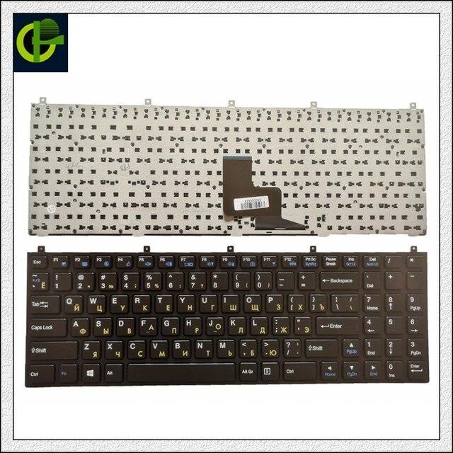 Rosyjska klawiatura dla Clevo DNS MP 08J46SU 4306W 6 80 M9800 283 1D MP 08J43NI 430 RU P151SM1 W76TUN W76XCUH W258 W258H