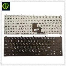 Russian Keyboard for Clevo DNS  MP 08J46SU 4306W 6 80 M9800 283 1D MP 08J43NI 430 RU  P151SM1 W76TUN W76XCUH W258 W258H