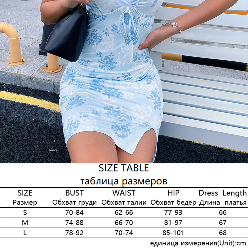 Sweetown Patchwork Lace Edge Y2K Aesthetic Cute Women Dress Summer Sexy Party V-Neck Lace Strap Mini Dress Female 90s Streetwear 9