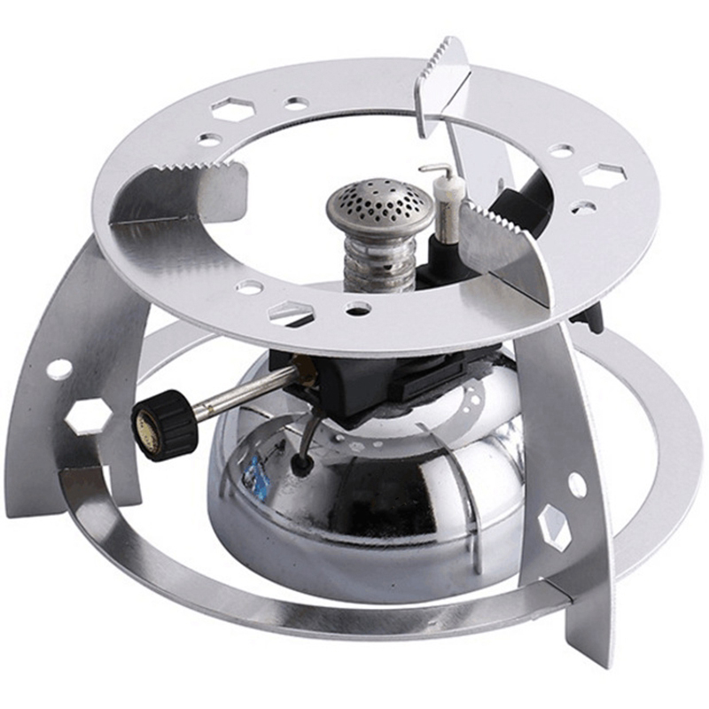 Mini Tabletop Butane Gas Burner With Flame Head For Siphon Coffee Heater Maker Coffee Maker Mocha Pot Gas Stove