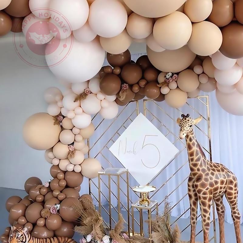 10/12 дюймов 20 штук Ретро Цвет воздушные шары во французском романтическом стиле Свадебные украшения на день рождения вечерние ко Дню Святого...