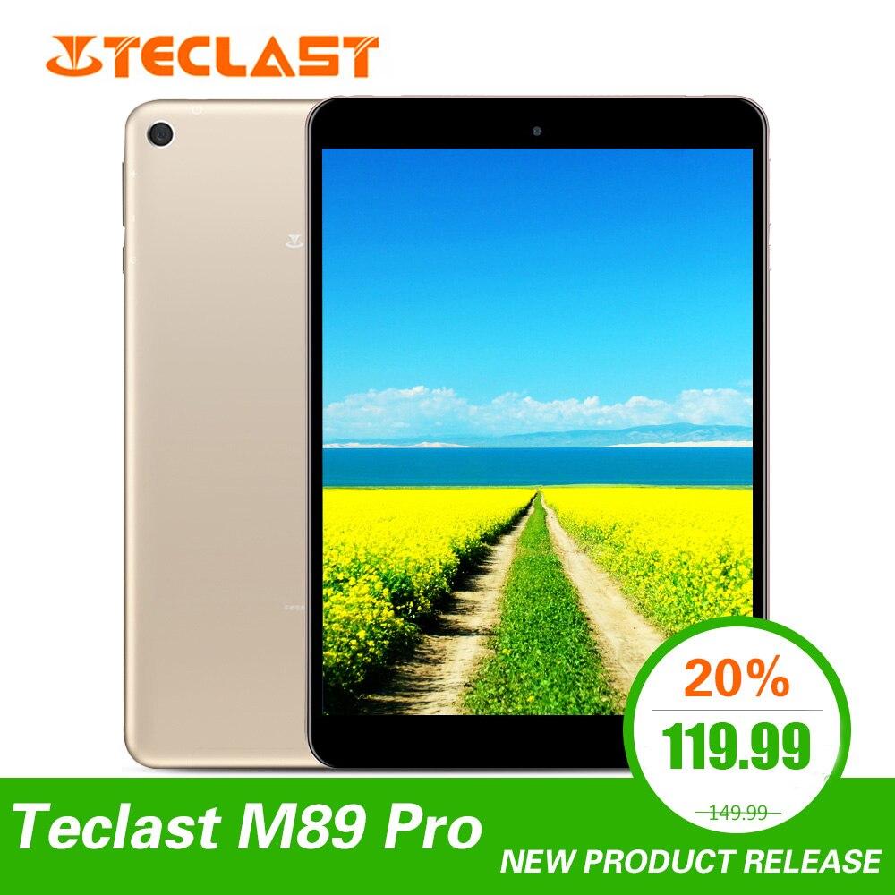 Teclast M89 Pro 7.9 pouces 3 go RAM 32 go ROM IPS X27 Deca Core 5.0MP 2048 × 1536 type-c 2.4G + 5G double bande WiFi métal tablette mince