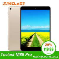 Teclast M89 Pro da 7.9 pollici 3GB di RAM 32GB di ROM IPS X27 Deca Core 5.0MP 2048 × 1536 Tipo -C 2.4G + 5G Dual-band WiFi Metallo Sottile Tablet PC