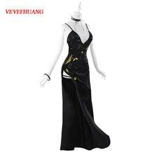 Женский костюм для косплея vevefhuang вечеринки в стиле Хэллоуин
