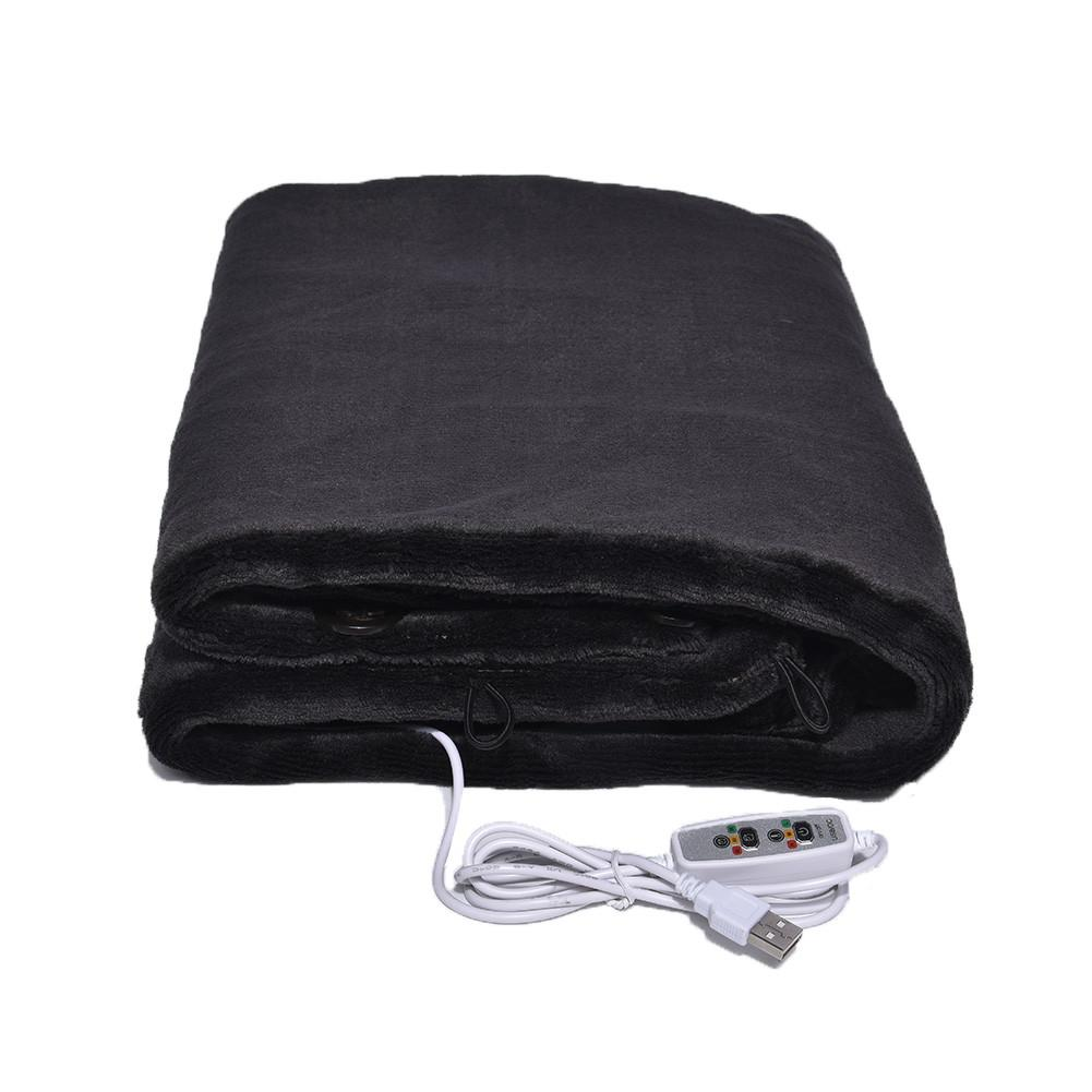 USB Heated Shawl Winter Warm Thermal Electric Heating Shoulder Blanket For Outdoor Camping Hiking Office And Sofa Use Warmer