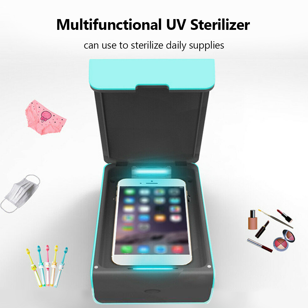 UV Sterilizer UV Disinfection Sanitizer With Aroma Difffuser For Phone Mask Cleaner Baby Sterilization Box
