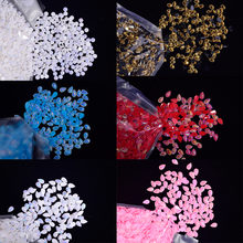 100 шт/пакет nail art желе с украшением в виде кристаллов Стразы