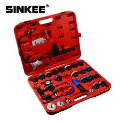 29 sztuk uniwersalny tester ciśnienia chłodnicy typu próżniowego układ chłodzenia Test detektor zestaw Testeur Refroidissement SK1305