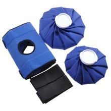 Emballage en velours réutilisable pour le poignet, soulagement de la douleur au genou, premiers soins chauds et froids, épaule, corps, Pack de glace, Portable, élastique pour les blessures sportives à la maison