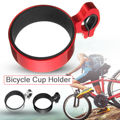 Fahrrad tasse halter motorrad griff kaffee getränke tasse halter halterung aluminium flasche käfig flasche halter lenker halter auf
