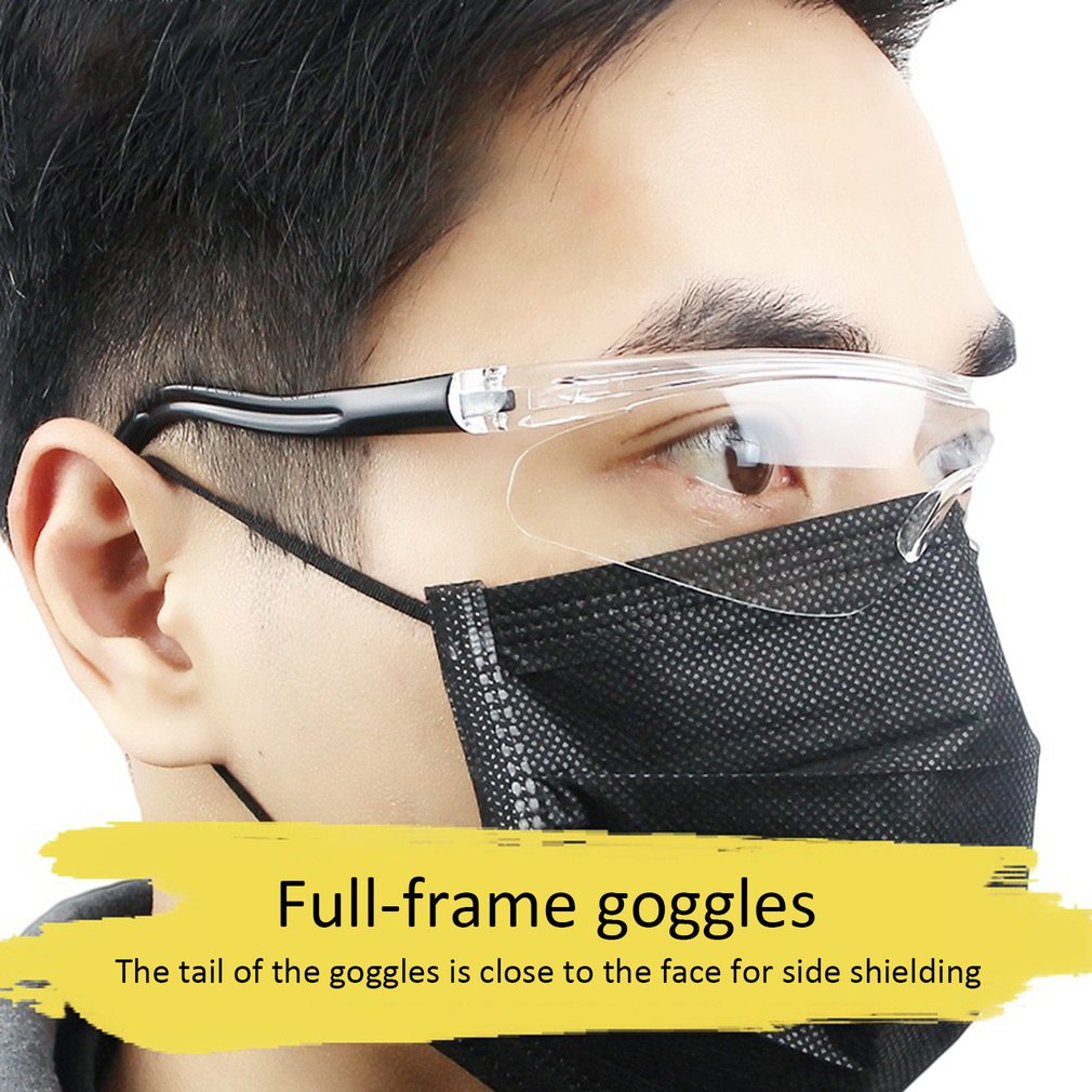 Safety Glasses Work Goggles Anti-wind Anti-sand Anti Fog Anti Dust Resistant Transparent Eyewear Protective Glasses