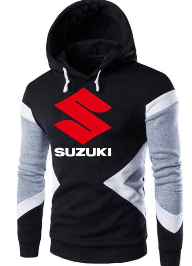 2019 jesień zima mężczyźni motocykl Suzuki bluza z kapturem 4S sklep sprzedaż mężczyźni bluzy sweter płaszcz casualowa kurtka z kapturem