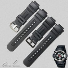 Ремешок резиновый для Casio G-Shock AW-591 590/5230/282B AWG-M100/101G-7700/7710