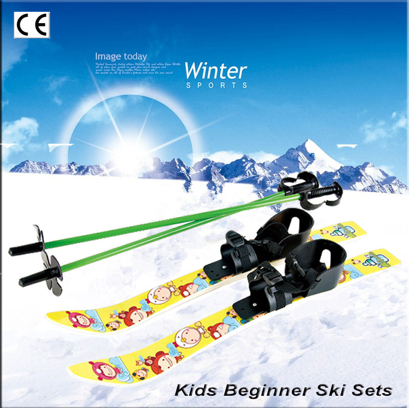 SOURCE Manufacturers Wholesale Supply Ski-03B Children Skiing Double Plate Skiing Plate Portable Sled
