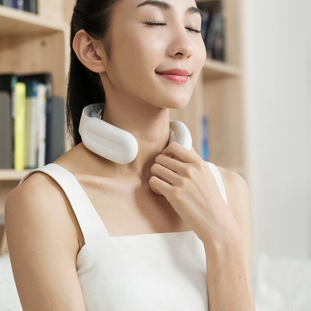 Smart Electric Neck and Shoulder Massager Pain Relief Tool Health Care Relaxation Cervical Vertebra Physiotherapy Pain Relief 5