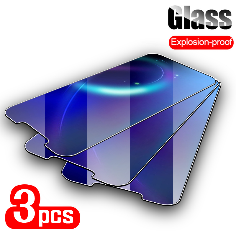 3PCS Tempered Glass For <font><b>Nokia</b></font> 3.1 7 7.1 Plus <font><b>Screen</b></font> <font><b>Protector</b></font> Tempered Glass On For <font><b>Nokia</b></font> <font><b>7.2</b></font> 6.2 6 5 4.2 3.2 2.2 Front Film image