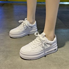 Spring Women Shoes Summer White Casual Breathable Flats Fashion Sneakers Vulcanization C0082