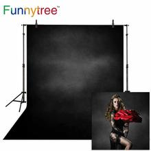 Funnytree photo background Solid color grey black old master photography photocall child wedding Halloween Christmas photophone