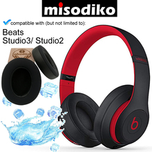 misodiko [Upgraded Cooling Gel] Replacement Cushions Ear Pads for Beats Studio 3, Studio 2.0 Over Ear Headphones, Repair Earpads