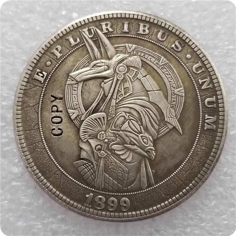 Type #27_Hobo Nickel Coin 1899-P Morgan Dollar COPY COINS-replica Commemorative Coins