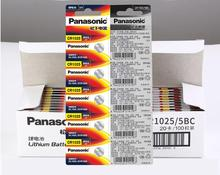 20pcs/lot Panasonic CR1025 CR 1025 3V Lithium Button Battery Coin Cell Batteries 20pcs lot panasonic 3v br2032 battery br 2032 high temperature button coin batteries cell