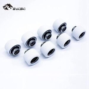 Image 5 - 8 pçs/lote Tubo Rígido Encaixe OD12mm/OD14mm/OD16mm Mão Encaixe De Compressão G1/4 4 Camada Seal Anel use para PMMA/PETG Rigidez Do Tubo