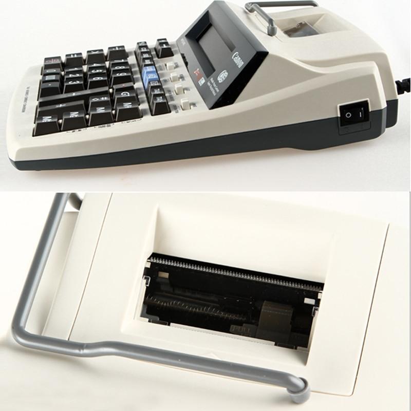 impressão computador 12 dígitos com pequeno rolo