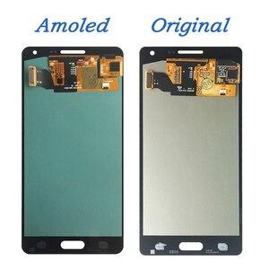 Image 2 - لسامسونج غالاكسي A5 2015 A500 A500F A500FU A500H A500M LCD مجموعة رقمنة اللمس جديد استبدال أجزاء شاشات LCD