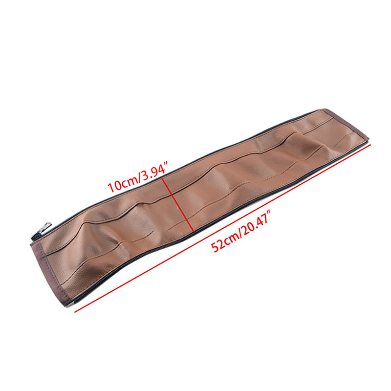 Baby Pram Pushchair Stroller Armrest Case Handle PU Leather Protective Cover E65D