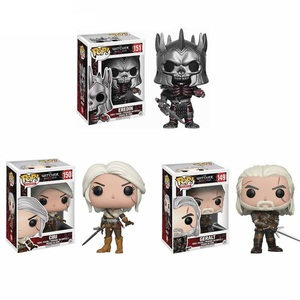 Funko pop The Witcher 3 Wild Hunt Character #151 Eredin #150 Ciri #149 Geralt Action Vinyl Figure Toys Collectible Model Gifts