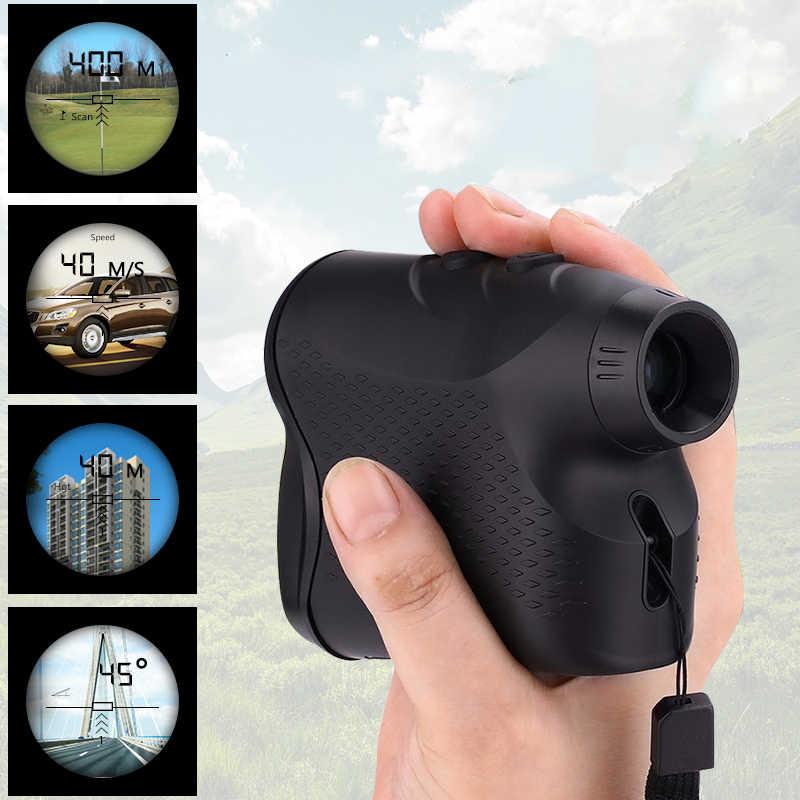 600M 900M 1200M 1500M de medidor láser de distancia para Monocular caza golf telémetro láser cinta para exterior de distancia medida