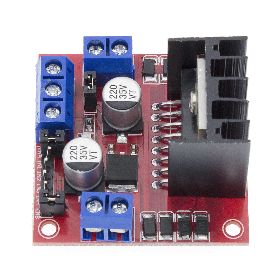 20pcs/lot L298N motor driver board module  stepper motor smart car robot