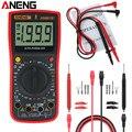ANENG AN881B + цифровой мультиметр поддерживает NCV Авто AC DC Измеритель Тестер Temprature тестер инструменты тест напряжения + 16 в 1 тест