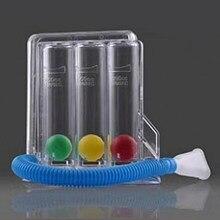 3 bolas de respiração exercitador função pulmonar melhoria trainer sistema de medição respiração espirometria respiratória