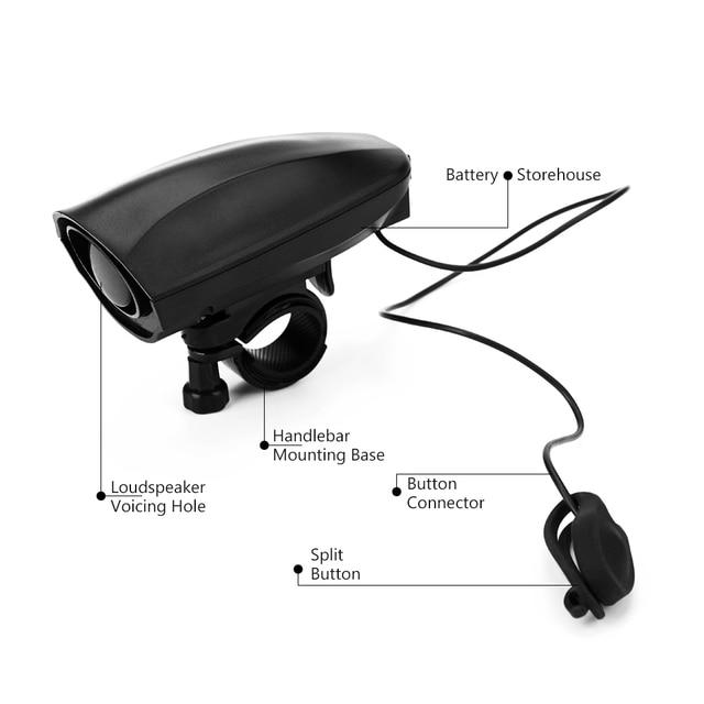 Waterproof Antitheft Bike Alarm Siren Bike Alert Safety Bicycle Loud Speaker